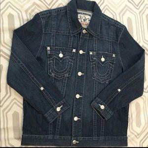 Other - Men's true religion jean jacket 100% authentic